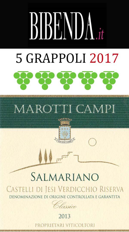 salmariano-2013-verdicchio-5-grappoli-bibenda-2017