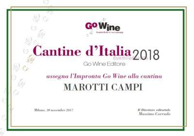 2018 GO WINE IMPRONTA