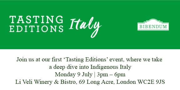 Bibendum Tasting Italy Marotti Campi Verdicchio Lacrima di Morro d'Alba