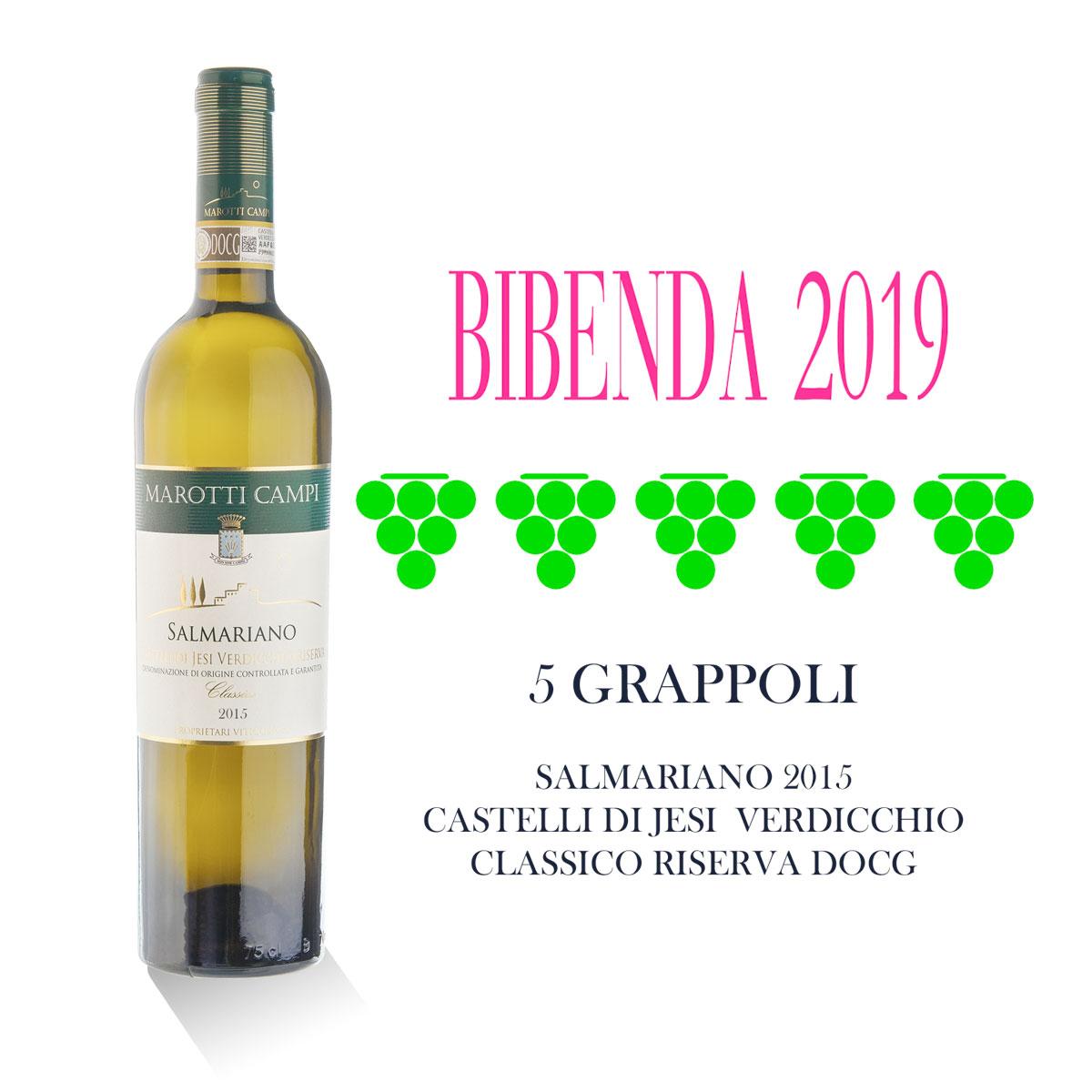 Salmariano-2015-5-Grappoli-Bibenda-2019-Marotti-Campi