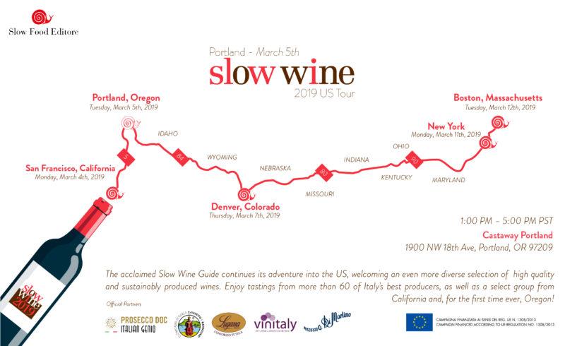 Slow Wine 2019 USA Tour Marotti Campi Verdicchio Lacrima