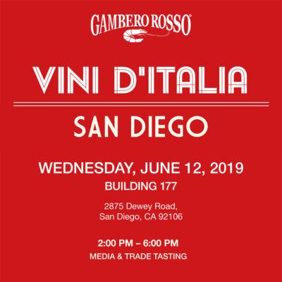 San Diego Vini d'Italia Marotti Campi Lacrima e Verdicchio