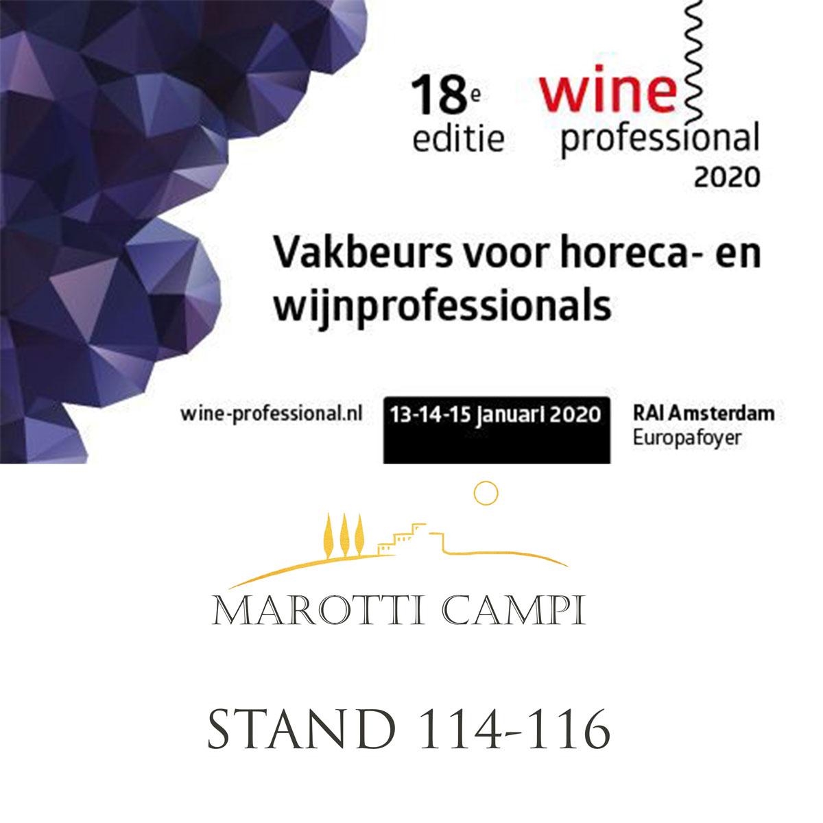 WINE-PROFESSIONAL Amsteram Marotti Campi Verdicchio and Lacrima