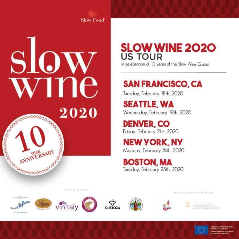 Slow Wine USA Tour 2020 Marotti Campi