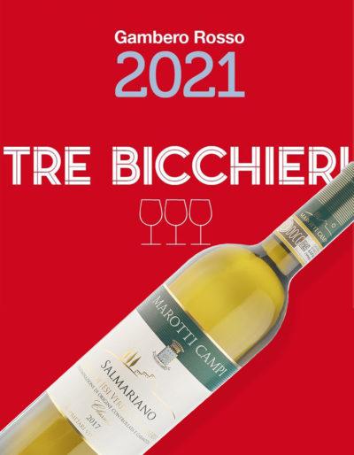 Tre Bicchieri Gambero Rosso 2021 - Salmariano 2017 Castelli di Jesi Verdicchio Riserva DOCG